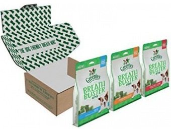 32% off Greenies Breath Buster Bites Dog Treats Variety Pack