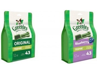 61% off Greenies Teenie Variety Pack