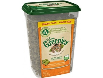 55% off Feline Greenies Dental Treats For Cats