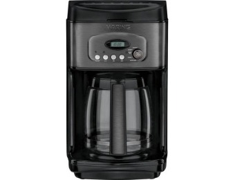 80% off Waring Pro 14-Cup Coffeemaker - Black Stainless Steel