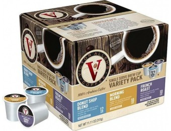 50% off Victor Allen's Variety Pack K-Cups (32-Pack)