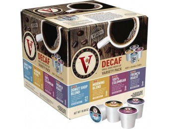 50% off Victor Allen's Decaf K-Cups (54-Count)