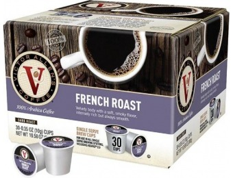 56% off Victor Allen's French Roast K-Cups (30-Pack)