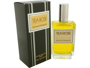 87% off Tea Rose by Perfumer's Workshop 4 oz Edt Spray