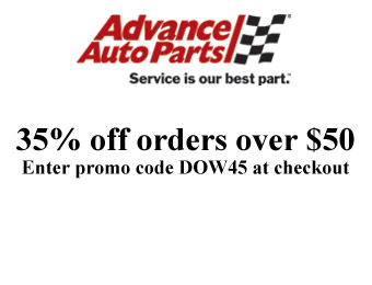 Save 35% off orders of $50+ at Advance Auto Parts