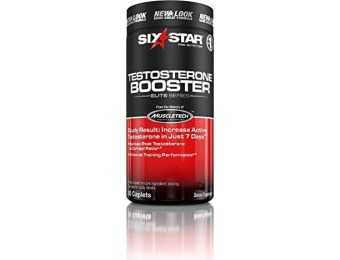 65% off Six Star Testosterone Booster Supplement