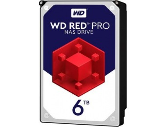 $100 off WD Red Pro 6TB NAS 7200 RPM Hard Disk Drive WD6002FFWX