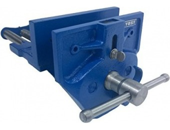 "50% off Yost M7WW Rapid Acting 7"" Wood Working Vise"
