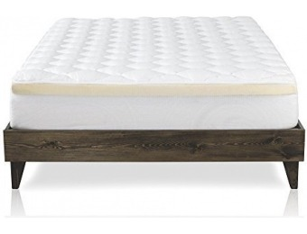 46% off Luxury Double Thick Extra Plush Mattress Topper, Cal King