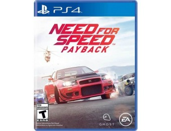 33% off Need for Speed Payback - PlayStation 4