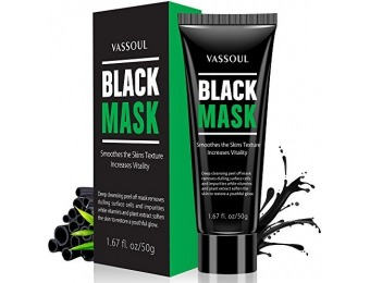 83% off Vassoul Blackhead Remover Mask with Collagen and Charcoa