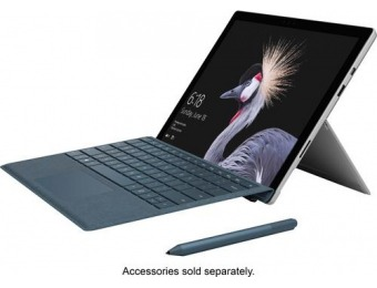 "$250 off Microsoft Surface Pro 12.3"" – Intel Core m3, 4GB, 128GB SSD"