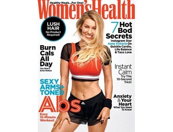 90% off Women's Health Magazine Subscription (1-year auto-renewal)