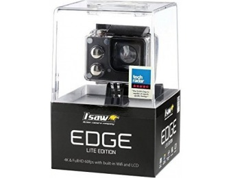 78% off ISAW Edge Lite Edition 4K Waterproof Sports Action Camera