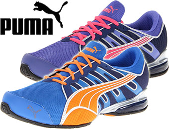 45% off Puma colorful men's and women's running shoes