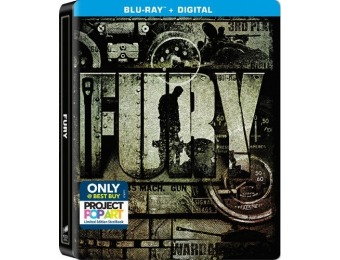 61% off Fury [SteelBook] Blu-ray