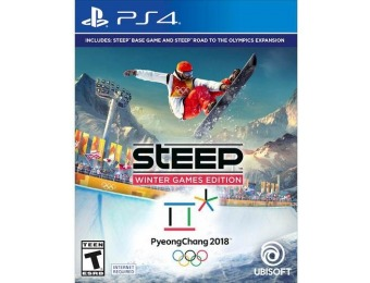 68% off Steep Winter Games Edition - PlayStation 4