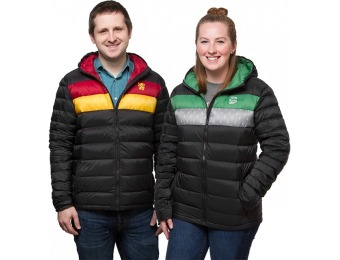 80% off Harry Potter House Down Jackets