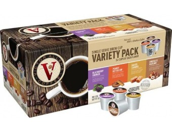 50% off Victor Allen Spring Variety Pack K-Cups (96-Pack)