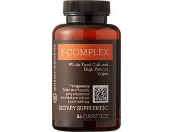 66% off Amazon Elements High Potency B Complex