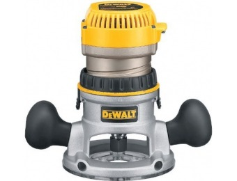 64% off DEWALT DW616 1-3/4 Horsepower Fixed Base Router
