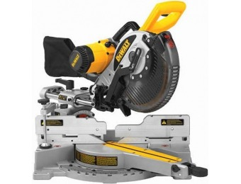 "$150 off DEWALT DW717 10"" Double-Bevel Sliding Compound Miter Saw"