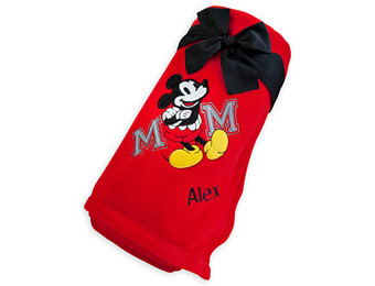 $15 off Disney Fleece Blankets and Pullovers + Free Personalization