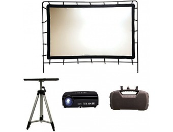 57% off Total HomeFX Outdoor Projection Theater Kit