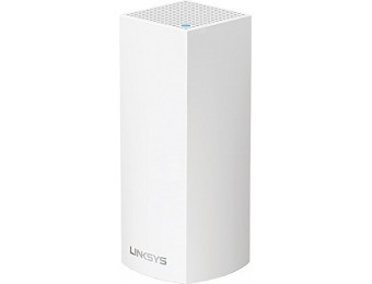 $64 off Linksys WHW0301 Velop Tri-band Whole Home WiFi Mesh Node