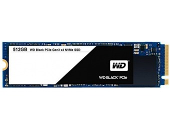 $40 off WD Black 512GB PCIe NVMe Performance SSD