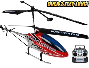 $150 off Gyro Metal Sparrow 3.5CH RC Helicopter - Over 2 Feet Long!