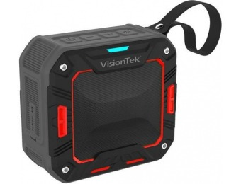 68% off VisionTek 900892 BTi65 Bluetooth Waterproof Speaker