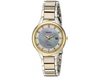 $241 off Seiko Women's Diamond Dial Dress Watch