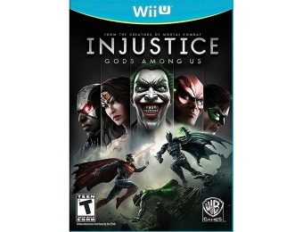 50% off Injustice: Gods Among Us (Nintendo Wii U)