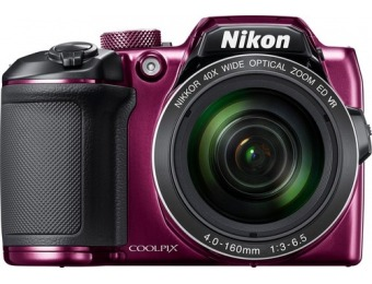 $130 off Nikon Coolpix B500 16.0-MP Digital Camera, Refurbished