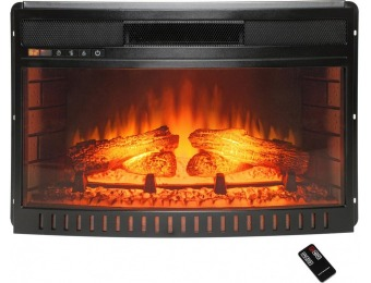"70% off AKDY 25"" Freestanding Electric Fireplace Insert Heater"