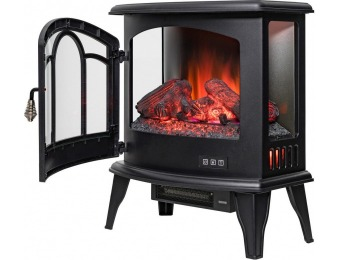 "59% off AKDY 20"" Freestanding Electric Fireplace Stove Heater"