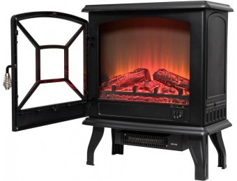 "52% off AKDY 20"" Freestanding Electric Fireplace Heater"