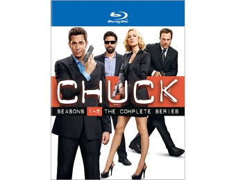$123 off Chuck: The Complete Series - Blu-ray Collectors Set
