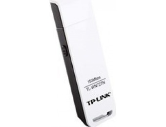 54% off TP-LINK TL-WN727N Wireless N150 USB Adapter
