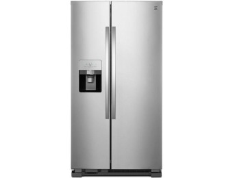 $600 off Kenmore 25 cu. ft. Side-by-Side Refrigerator - Active Finish