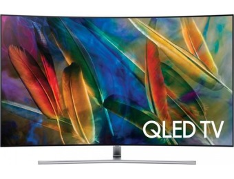 "50% off Samsung 55"" LED Curved 2160p HDR Smart 4K Ultra HD TV"