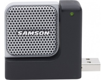 60% off Samson Go Mic Direct Portable USB Microphone