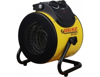 50% off DuraHeat 1,500W 120-Volt Electric Forced Air Heater
