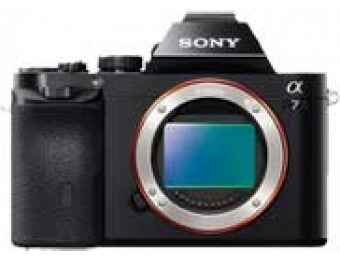 $902 off Sony 24.3 MP Alpha 7 Interchangeable Lens Camera