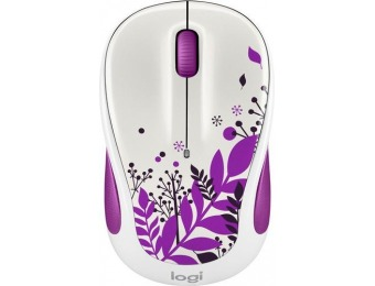 50% off Logitech M325 Wireless Optical Mouse - Purple Peace