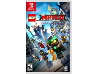 67% off LEGO Ninjago Movie Video Game - Nintendo Switch