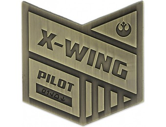 75% off Star Wars X-Wing Pilot Pin