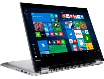 "$60 off Lenovo 14"" Touch-Screen Laptop - Intel, 4GB, 500GB"