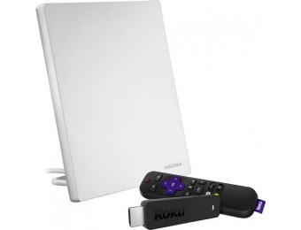 33% off Roku Streaming Stick and Multidirectional HDTV Antenna